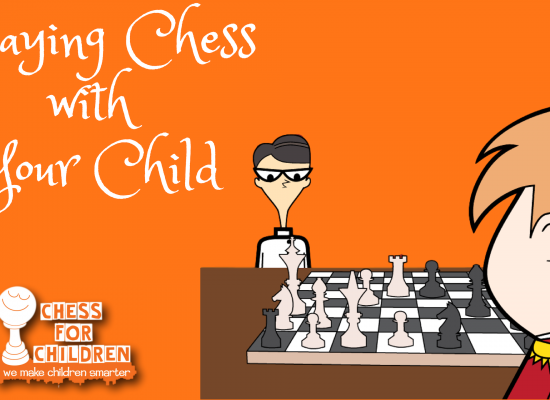 playing chess with your child