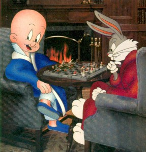 Bugs Bunny Plays Chess