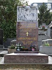 Alekhines grave in Paris