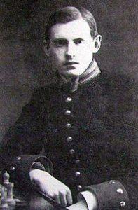 Alekhine in 1908