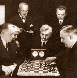 Alekhine Playing Bogoljobov