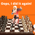 a chess game inspired by pop music