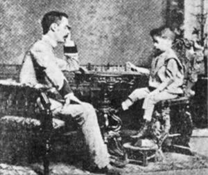 Capablanca as a youngster