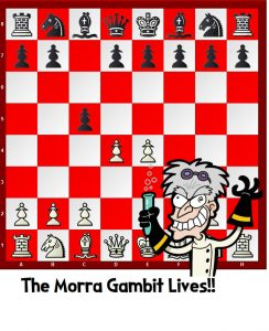 The Morra Gambit Lives!!