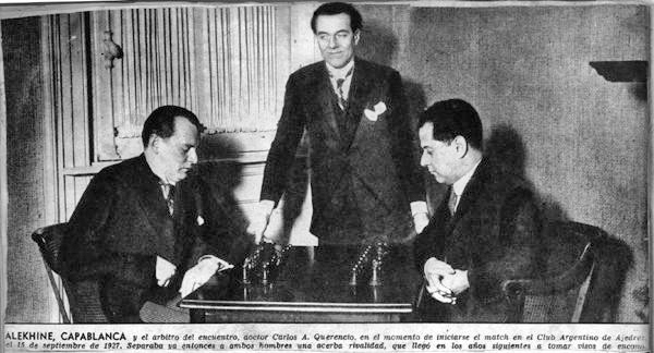 Alekhine Capablanca World Championship 1927