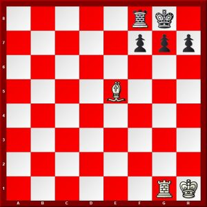 Morphy's Deferred Mate White to move mate in 5