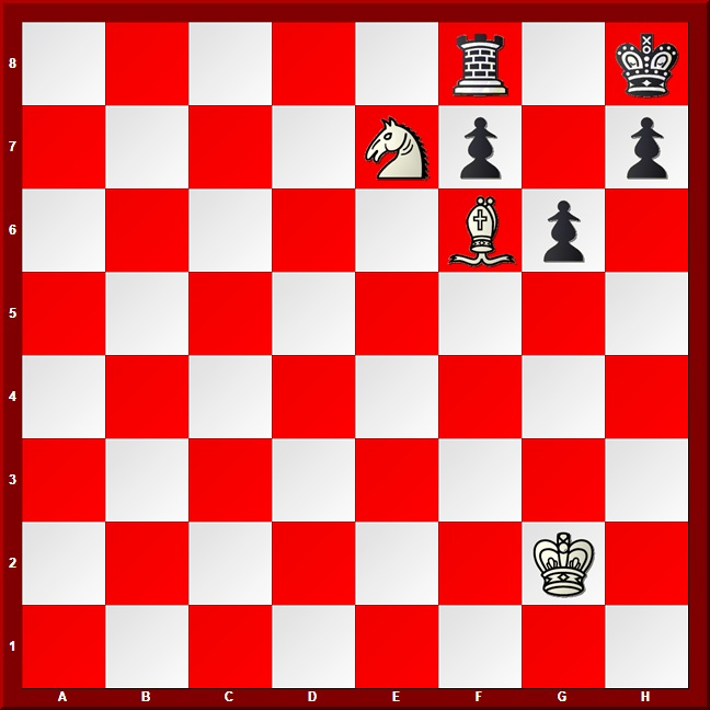 Bishop and Knight Checkmate position #2